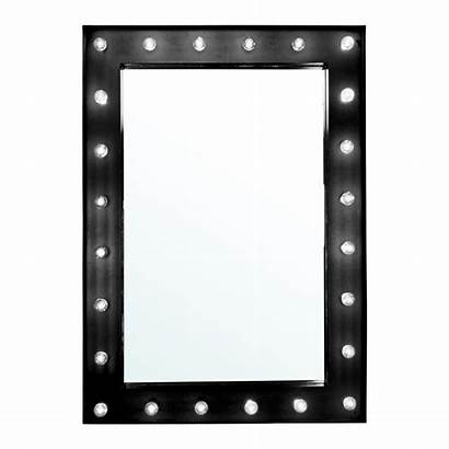 Mirror Vanity Wall Makeup Lighted Mounted Hollywood