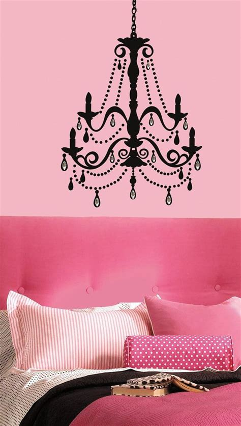 medium chandelier wall decal wall chandelier