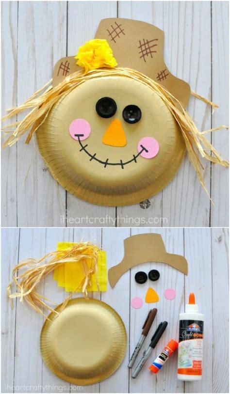 fun diy scarecrow crafts  kids style motivation