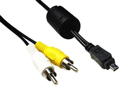 kabel l2 audio 2 in 1 usb av kabel til nikon digital kamera