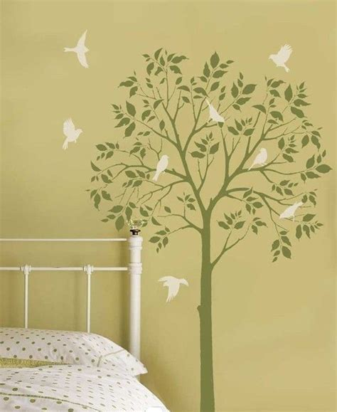Childrens Bedroom Stencils by How To Create A Tree Themed Children S Bedroom Bird