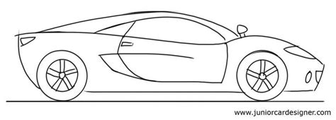 kid car drawing car drawing tutorial for kids sports car side view