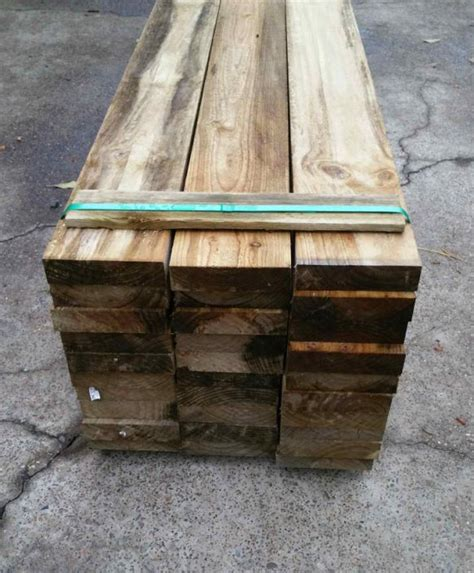 Pine Sleepers by Treated Pine Sleepers Carrolls Wholesale Timber