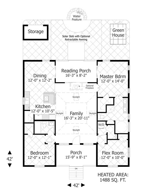 house plan designers the eco box 3107 3 bedrooms and 2 baths the house