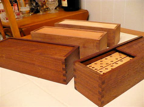 dominos domino boxes  fjpetruso  lumberjockscom