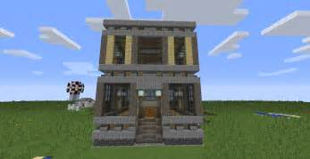 Images House To Build by A New Way To Build In Minecraft Chunk Houses