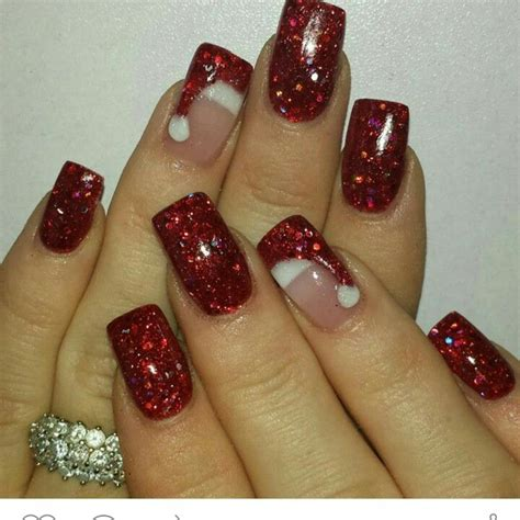 25 best ideas about christmas nail art on pinterest