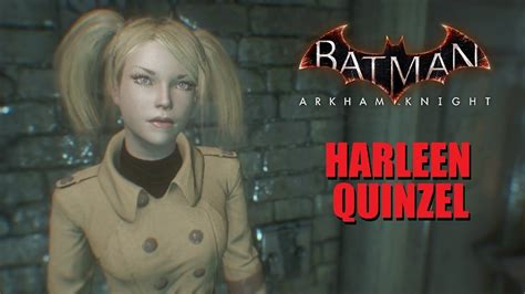 skin batman arkham knight harleen quinzel youtube