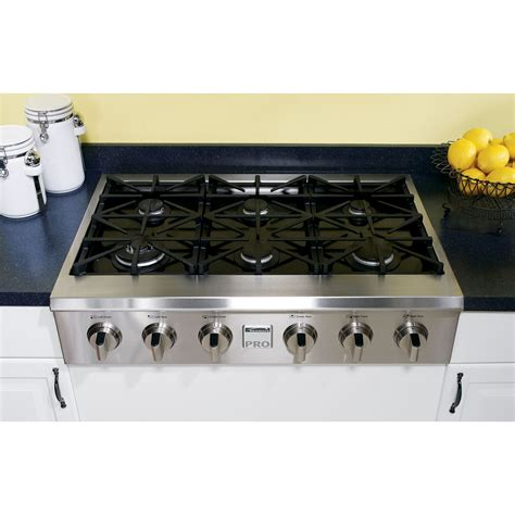 Gas Cooktop by Kenmore Pro 30503 36 Quot Slide In Ceramic Glass Gas