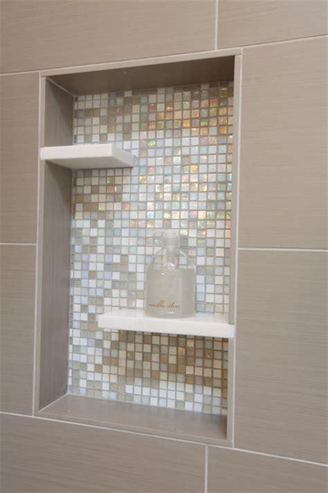 shower niche insert mid century modern master bathroom midcentury bathroom seattle by id by gwen
