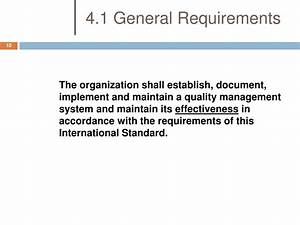 ppt transitioning from iso 90012008 to iso 134852003 With document management system business requirements