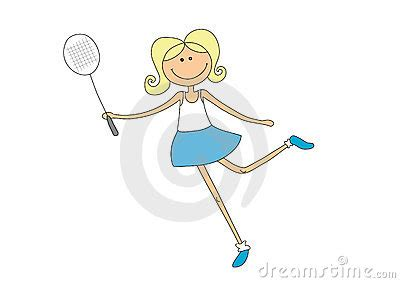 anime based on badminton badminton royalty free stock images image