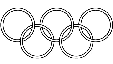 olympic circles coloring pages   print