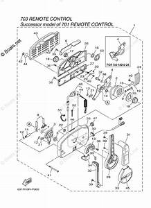 Yamaha Outboard Parts By Hp Rigging Parts  U0026 Propellers Oem Parts Diagram For Control 703 Manual