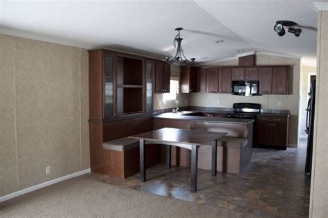 single wide  mccants mobile homes simple kitchen
