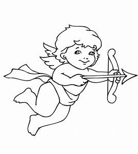 Cupid Coloring Pages - Best Coloring Pages For Kids
