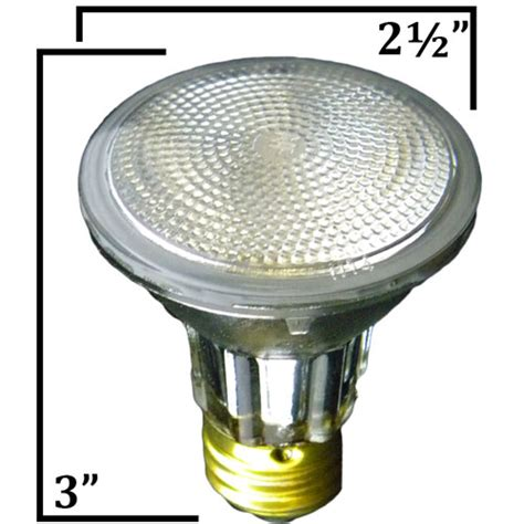 120v 50w par20 halogen flood light bulb 50par20 qfl by ccl