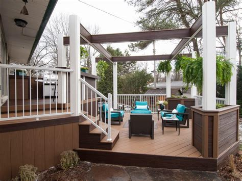 Before and Afters of Backyard Decks, Patios and Pergolas   DIY