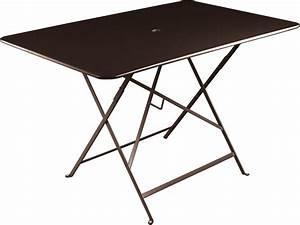 Petite Table Pliante : table pliante bistro 117x77cm 6 personnes rouille fermob ~ Teatrodelosmanantiales.com Idées de Décoration