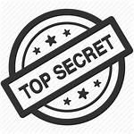 Secret Confidential Icon Stamp Hidden Security Spy