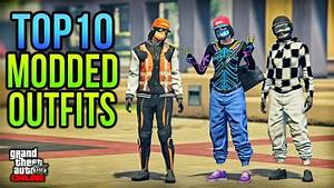 10 MODDED OUTFITS FOR FEMALE CHARACTER - DIRECTOR MODE GLITCH - PS4 ONLY! - YouTube
