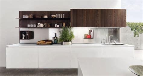 estantes  equipar las paredes de la cocina cocinas