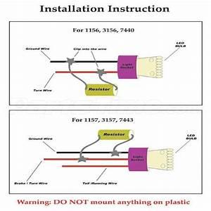 2x Car Load Resistor 50w 6