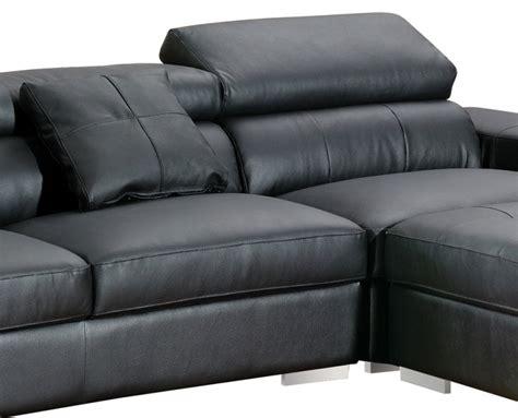 canapé d angle noir cuir canape d 39 angle vivalto cuir noir canapé topkoo