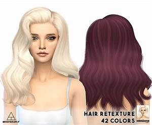 Sims 4 Hairs Miss Paraply Alessos Omen Hairstyle