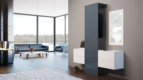 Garderobenset Flur Garderobe Diele Carlton Set 3 In Weiß