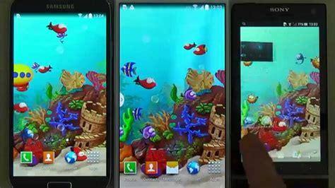 Animated Aquarium Wallpaper For Android - aquarium live wallpaper for android phones and