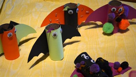halloween crafts  kids  upcycled toilet paper rolls