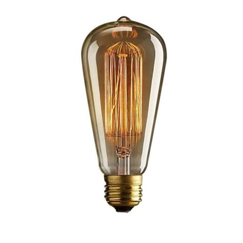 light bulb squirrel cage filament 17 anchors vintage
