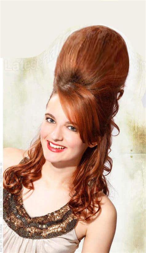bouffant hairdo images  pinterest hair dos