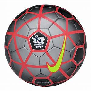 The Nike EPL Saber soccer ball provides a great touch and ...