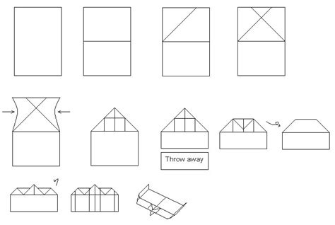 paper airplane ideas compact paper airplane