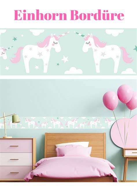 Wandgestaltung Kinderzimmer Einhorn by Einhorn Tapete Bord 252 Re Bord 252 Re Selbstklebend Einhorn