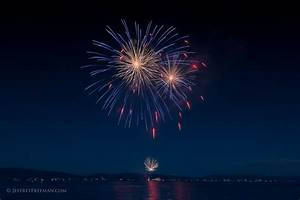 Tahoe City 4th Of July Fireworks Show