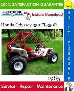 Best  U2606 U2606 1985 Honda Odyssey 350 Fl350r Atv Service Repair