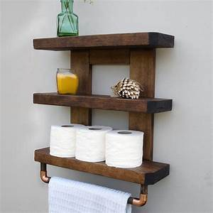 rustic bathroom shelves With pictures of bathroom shelves