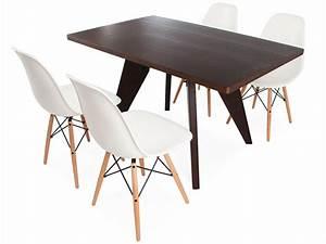 e tisch prouv mit 4 st hlen With tisch mit 4 stühlen