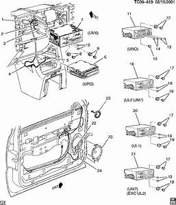 2001 Chevy Silverado Door Lock Diagram