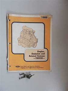 1986 Ford Truck Engine Emissions  U0026 Related Systems Book