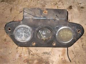 Farmall Ih 300 350 Utility Tractor Instrument Panel