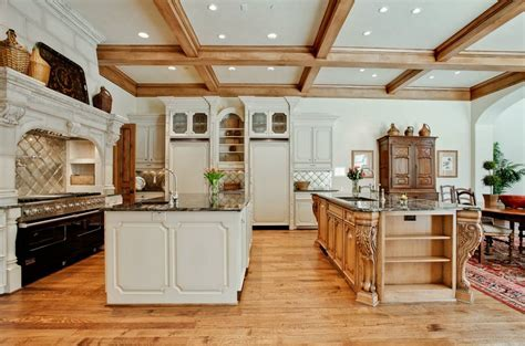 Island Height Corbels Stunning Addition to Open Kitchen