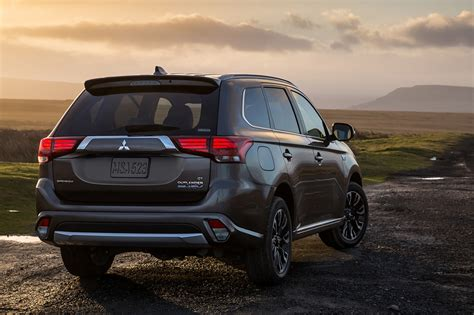 2018 Mitsubishi Outlander Phev Plugin Hybrid Electric