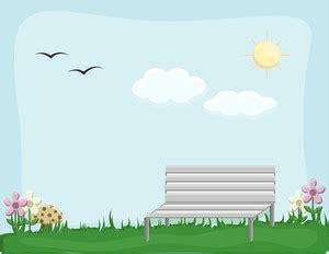 garden cartoon background vector royalty  stock