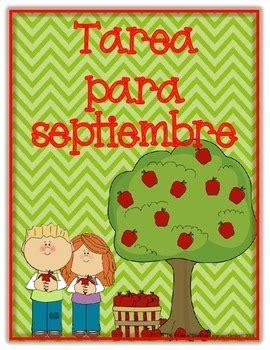 spanish language artsmath homework  kindergarten