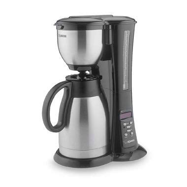 zojirushi stainless steel thermal carafe  cup coffee