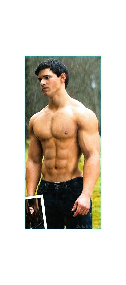 Lautner Taylor Muscles Muscle Chest Biceps Guy